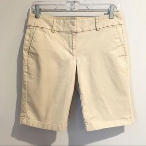 Ann Taylor Boardwalk Chino Shorts Size 2